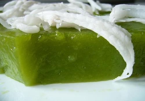 ขนมเปียกปูนสีเขียว